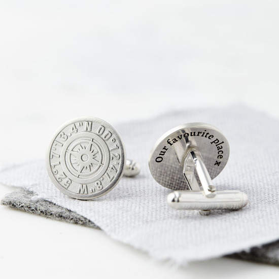 Sally Clay Coordinate Cufflinks