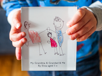 Personalised child's drawing