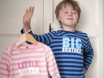 sgt smith big brother and little sister t-shirts