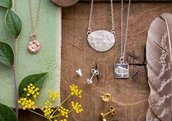 Nature-inspired handmade jewellery