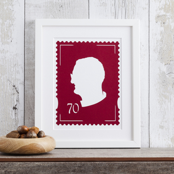 Stamp Silhouette Paper Cut Art