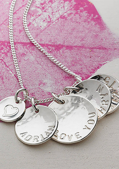 Personalised Silver Necklace