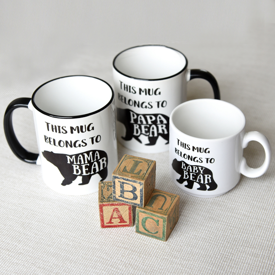 Personalised and handmade mugs