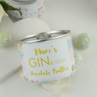 Gin and Tonic gifts, chocolate truffles