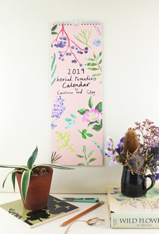 Constance and Clay Botanical Calendar