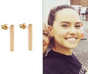 DAISY RIDLEY Wearing our KOTI post earrings and our MANI studs!