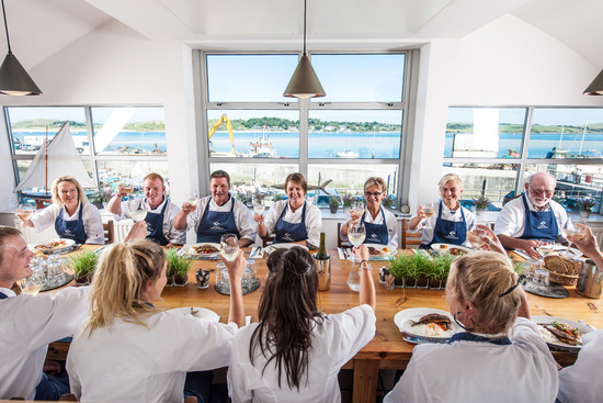 Lunch at Rick Stein's Cookery School