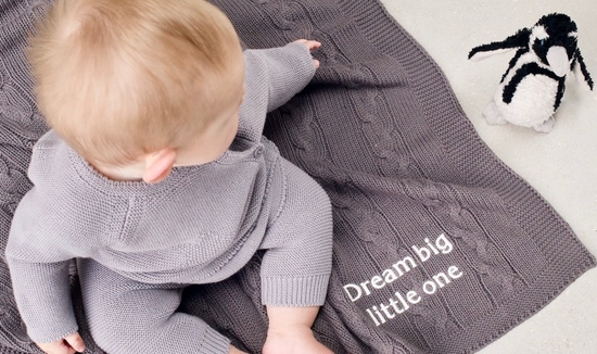 Luxury personalised baby blankets and baby outfits perfect newborn gifts, baby shower gifts and luxury baby essentials