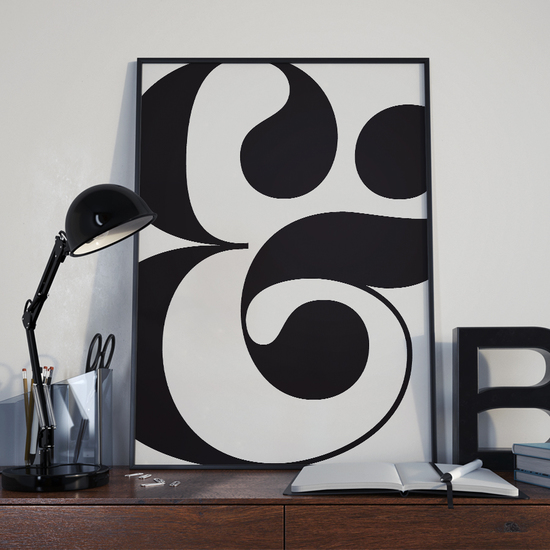 Typographic Prints and Posters, graphic design, minimalist
