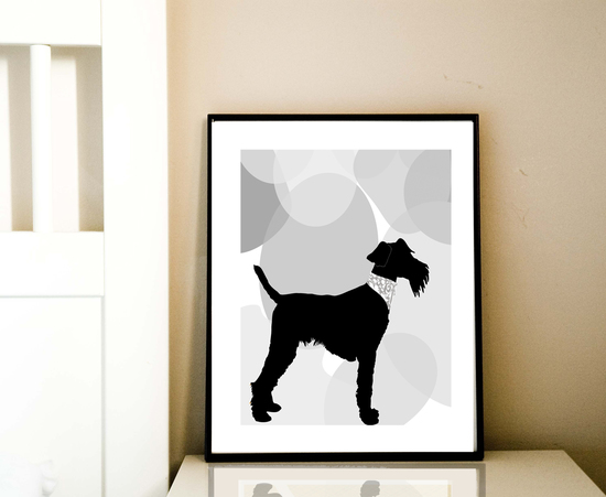 Dog Art, Welsh terrier,
