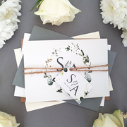 Sienna Mai Wedding Invitations and wedding stationery specialists in the UK