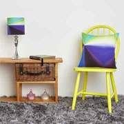 Lightning Cushion & Lampshade - Sophia O'Connor