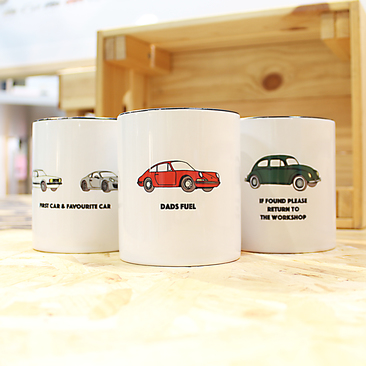 Carvolution® bespoke mugs