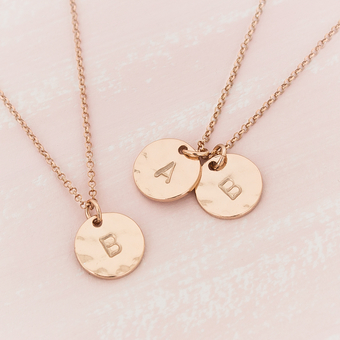 Bloom Boutique Personalised Necklace