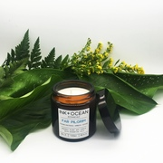 organic plant wax essential oil candle