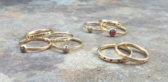 Selection of Scrumptious Eco Friendly Rings