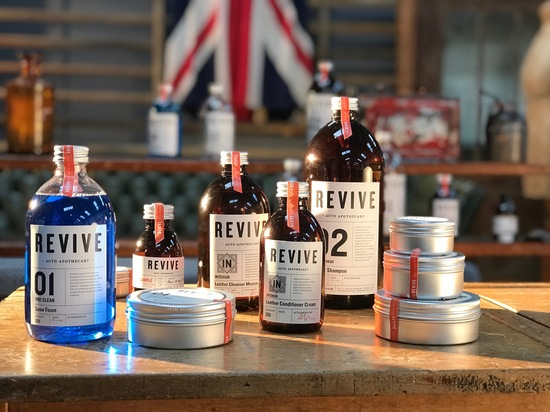 REVIVE Auto Apothecary hand-made car detailing products