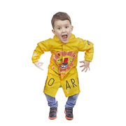 Kids Lion Rain jacket new design