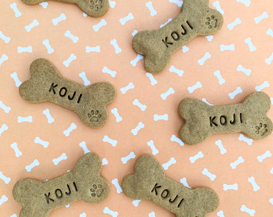 Personalised Dog Biscuits Treats