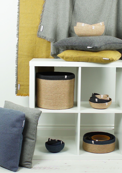 ReSpiin Recycled Cushions and Jute Baskets