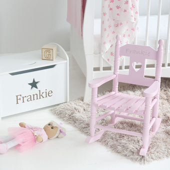 Our beautiful storage boxes are a unique addition to your little one's playroom and can be personalised for free for that extra special touch.