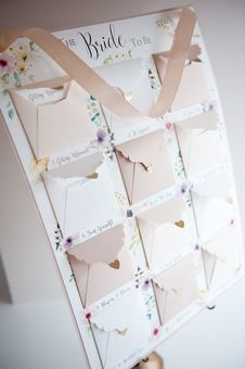 Hummingbird Cards Bride to be advent calendar