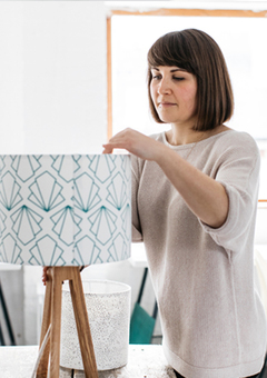 Joanna Corney - Lampshade Making