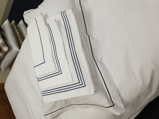 Embroidered Bed Linens