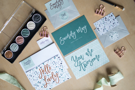 Sincerely May Wedding Branding