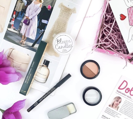 A beautifully curated box of niche brands she will adore