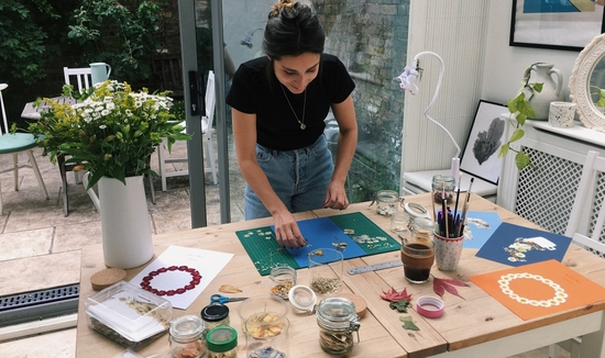 Maddy's Pressed Flower Workshop in London