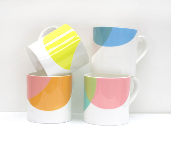 Dip Collection Bone China Mugs