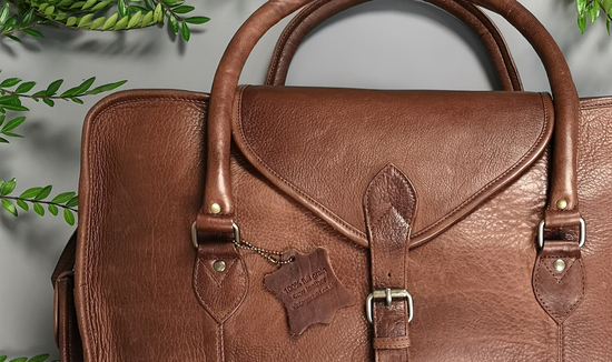 personalised leather bags