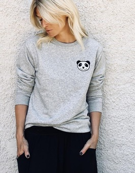 Adult Panda Sweatshirt