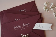 Wedding Invitation Envelope Addressed Flap