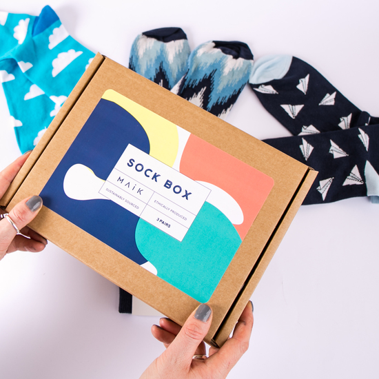 Build Your Own Sock Box