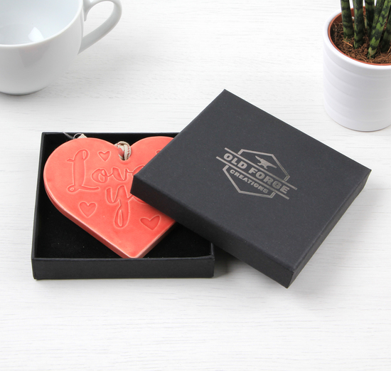 Hanging Heart in Gift Box
