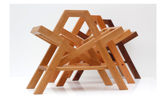 Charlie Caffyn Furniture Farleigh Magazine Racks