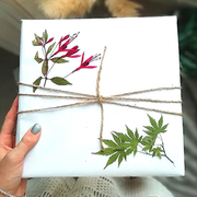 StephieAnn Pressed Flower Gift Wrap - Available on all orders