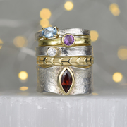 Storybook rings add a touch of opulence to your fingers