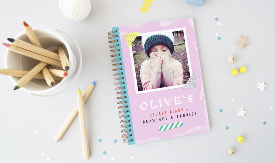 Onneke personalised kids diary