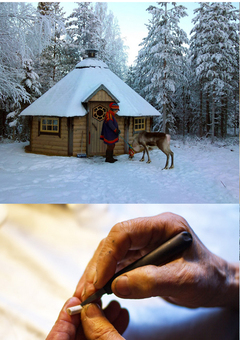 Our Sami Craftsman making our pieces