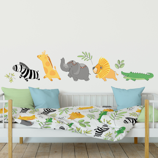 Vinyl Jungle Wall Stickers