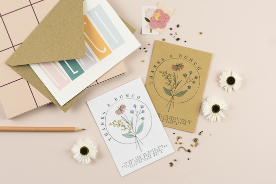 Wildflower Seed Packet favour