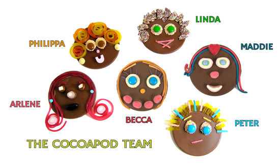 cocoapod chocolates pictures of cocoapod staff friendly faces