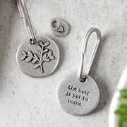 the best is yet to come keyring
