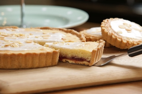 Raspberry bakewell Gluten and wheat free