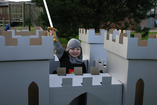 Kid-Eco Castle White