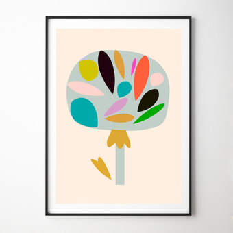 Mango Tree Art Print