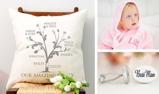 Personalised Family Tree Cushion